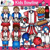 Kids Bowling League Clip Art: Physical Education Graphics {Glitter Meets Glue}