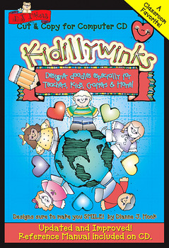 Kidillywinks Teacher Clip Art CD