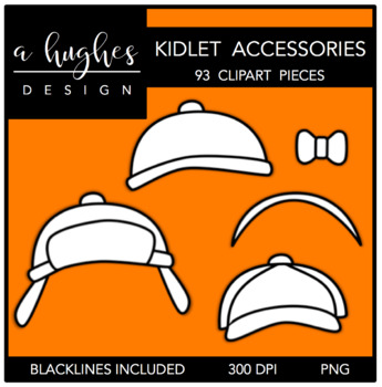 Kidlet Accessories Clipart {A Hughes Design}