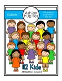 Kidlets Clipart Set 1 {A Hughes Design}
