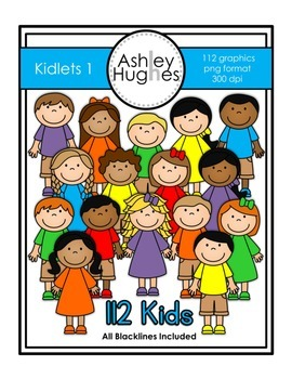 Kidlets Set 1 {Graphics for Commercial Use}