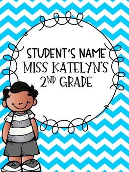 kidlett folder covers by fabulous second grade tpt