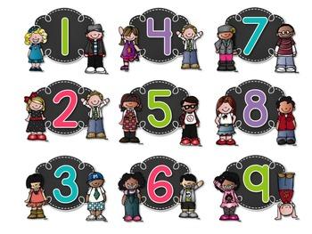 Free Kidlette Book Bin Numbers