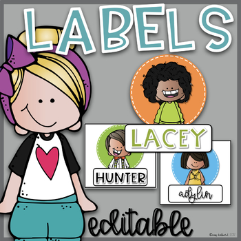 Kidlette Label Bundle~ Editable