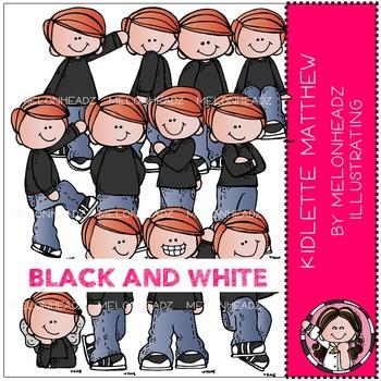 Melonheadz: Kidlette Matthew BLACK AND WHITE