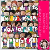 Kidlettes Alphabet clip art by Melonheadz