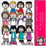 Kidlettes - Big Glasses - Part 2 - COMBO PACK - by Melonheadz
