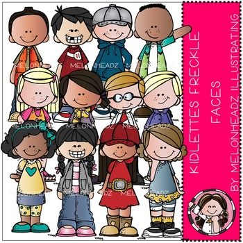 Kidlettes Freckle Faces by Melonheadz COMBO PACK