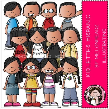 Kidlettes Hispanic by Melonheadz COMBO PACK