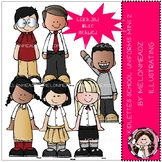Kidlettes School Uniforms clip art - Mini - Set 2 - Melonh