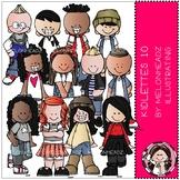 Kidlettes clip art - 10 - COMBO PACK - Melonheadz Clipart