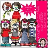 Kidlettes clip art - Dia de Los Muertos - Mini - by Melonheadz