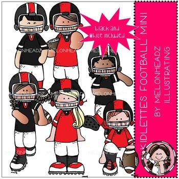 Kidlettes clip art - Football - Mini - by Melonheadz