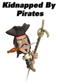 Kidnapped By Pirates: School Play for 10 to 30 guests