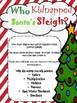 Kidnapped Santa's Sleigh {Math C.S.I.}(NO PREP)