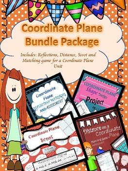 Coordinate Plane Unit Bundle {NO PREP}