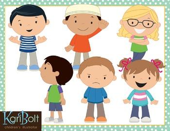 Kids 2 Clip Art