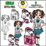 Girls Clipart - Little Girl