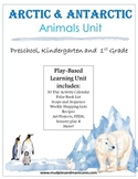 Kids Activities; Arctic and Antarctic Animals Unit ELA & Math Integrated