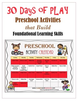 Kids Activities for Play Based Learning