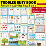 Toddler Busy Binder - Preschool Activity Busy Book Set