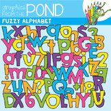 Fuzzy Alphabet Clipart