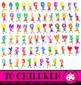 Kids Alphabet School Learning Clip Art