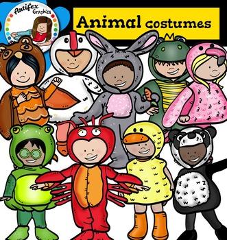 Kids Animal Costumes1- Halloween kids-