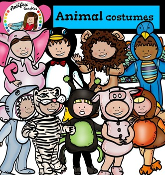 Kids Animal Costumes2 - Halloween kids-