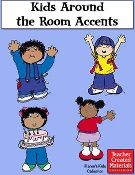 Kids Around the Room Accents by Karen's Kids (Digital Download)