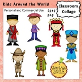 Kids Around the World Set 1 Color China Russia Australia France Africa A. Smith