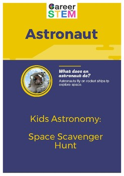 Kids Astronomy: Space Scavenger Hunt Game