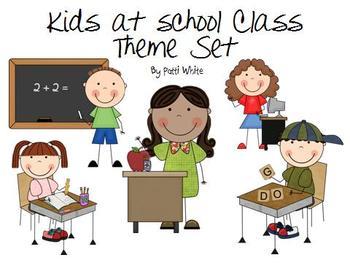 Kids At School Theme