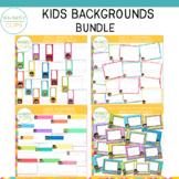Kids Backgrounds Bundle
