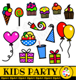 Kids Birthday Party Clip Art