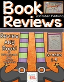 Book Reviews {Book Review Templates to use with ANY Book} Oct. Edition