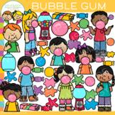 Kids Bubble Gum Clip Art