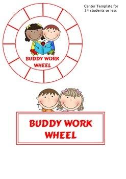 Kids Buddy Work Wheel