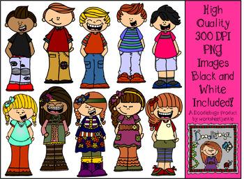 Kids Bundle 1 Clipart Images