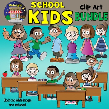 School Kids Bundle {School Kids} - Desk Kids and Happy Kids