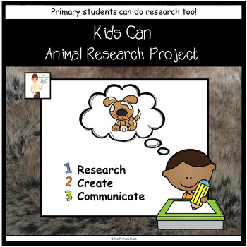 Kids Can Animal Research Project