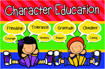 Kids Character Education Posters