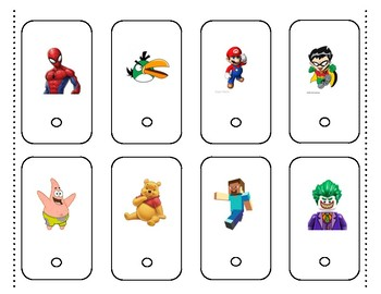 Kids Character Letter Recognition Pack