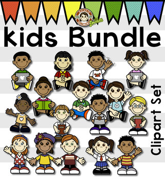 Kids Clip Art - Bundle 1