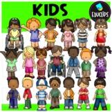 Kids Clip Art Set {Educlips Clipart}