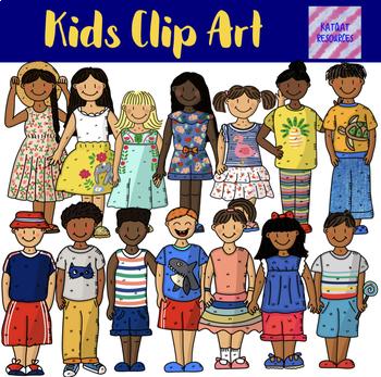 Kids Clip Art Bundle