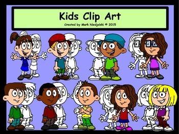 Kids Clip Art - Clip Art for Teaching