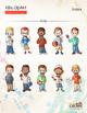 Kids ClipArt - Students Essentials Pack - Kids Artwork – (ClassCrown™)