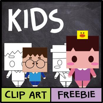 Kids Clip Art (Freebie!)