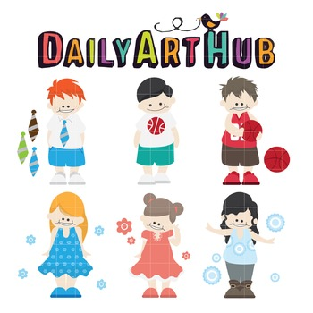 Kids Clip Art - Great for Art Class Projects!
